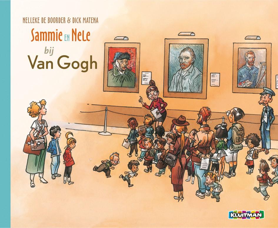 Sammie en Nele bij Van Gogh – Nelleke de Boorder & Dick Matena