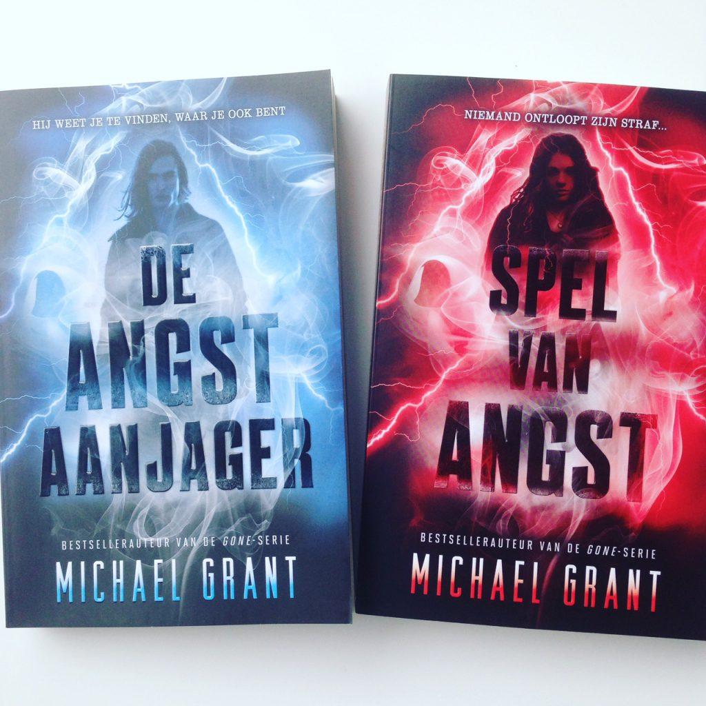Tweeluik: De Angstaanjager & Spel van Angst – Michael Grant