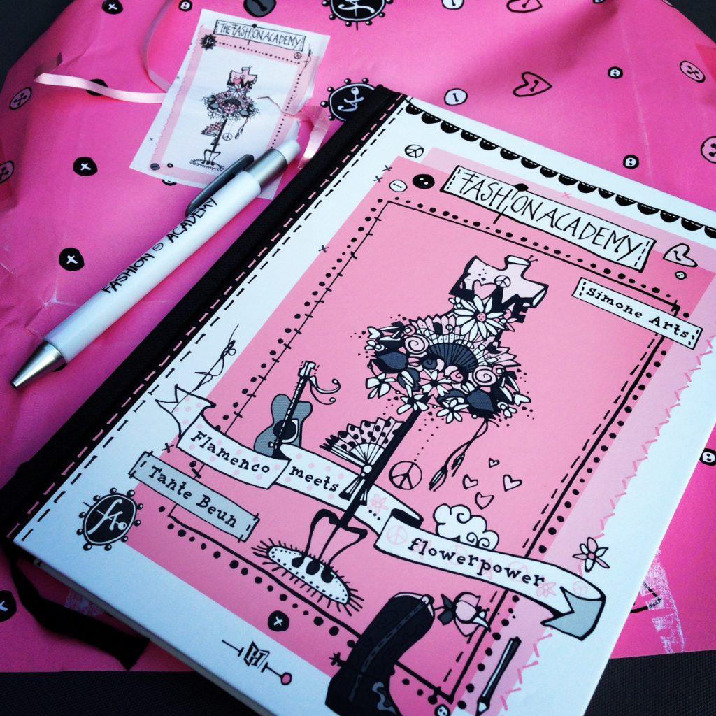 Fashion academy flamenco meets flowerpower simone arts for Fashion academy